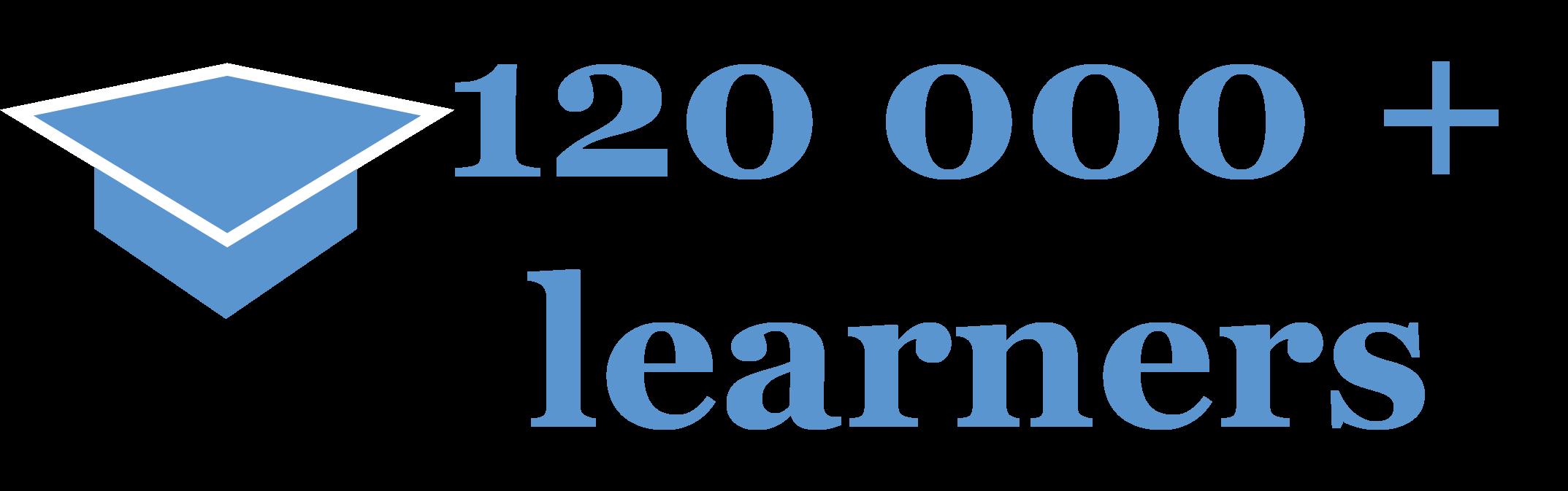 120 000 learners
